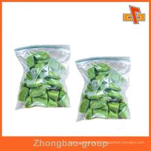 packaging materials food grade vacuum sealing zip lock plastic bag for sugar,dried food packaging
