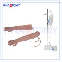 Prática de enfermeira PNT-TA003 usado braço de treinamento IV multifuncional