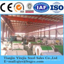 Fabricant de bobine en acier inoxydable 304, 316L, 321, 2205
