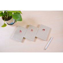 Cloth Cover 132*90mm Hardcover Notebook