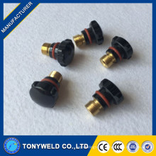 tig welding torch spare parts wp9/wp20 series short back cap