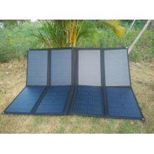 Bolso plegable del cargador de la energía solar del dispositivo móvil grande de 150W usado en la radio del ejército