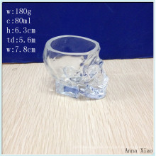 80ml Skull Glass Candle Jars on Sale