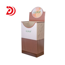 Ladder floor cardboard display stand