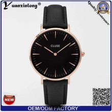 Yxl-236 Stainless Steel Brand Dress Watches Lady Leather Luxury Fashion Cluse Women Watches Wrist Watch