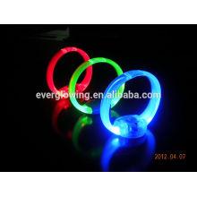 bracelet luminescent led activé par le son vente chaude 2017