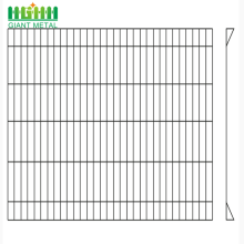Galvanized Anti-climb Security Roll Top Fence Panel