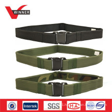 Custom canvas army belt
