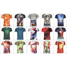 2016 Новый стиль Полная сублимированная футболка