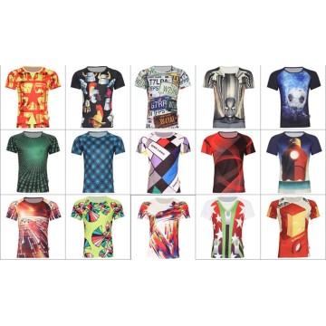 2016 estilo novo Sublimated completamente Camiseta