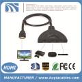 3 порта свиной хвост HDMI 1080p переключатель Splitter Switcher HUB Box кабель для телевизора HDTV DVD PS3 Xbox 360 кабельный ящик