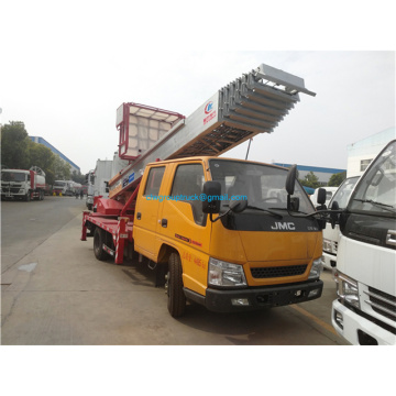 High End Ladder Lift System 28m Aluminum Aerial Ladder Lift Truck