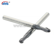 HRC 50 Tungsten Carbide Ball End Milling Cutters for Steel
