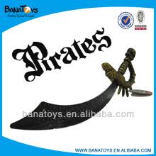 Interesantes espadas de piratas de niños de plástico