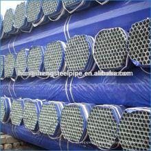 Tubagem / tubo tubular de drenagem galvanizada a quente DN 50