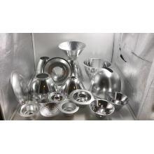 espejo de aluminio personalizado revestimiento de vacío reflector led taza