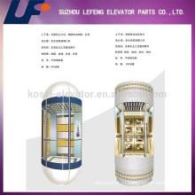 Капсульное стекло Панорамный лифт пассажирского лифта