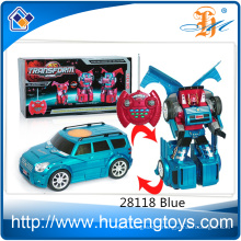 2016 Most Popular Remote Control Trans Robot Car Toys For Kids