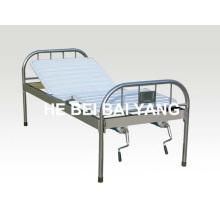 A-124 cama de hospital manual de duas funções