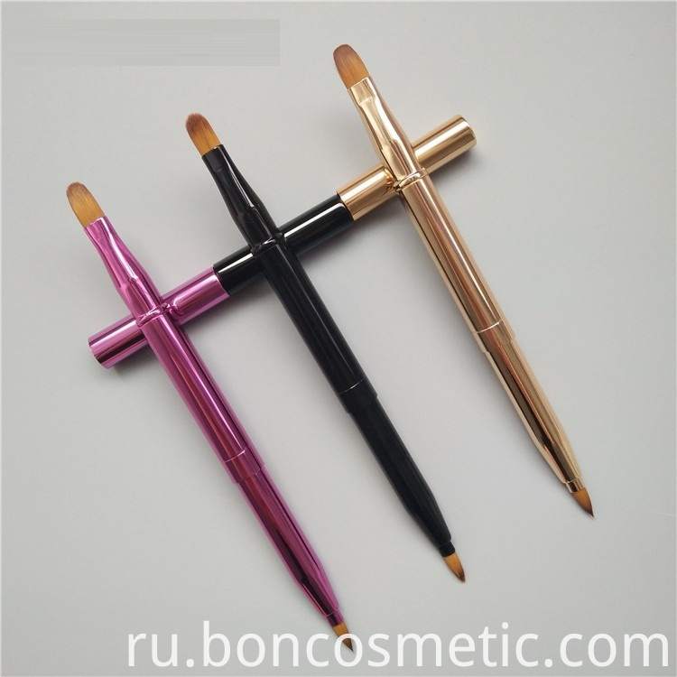 Retractable Lip Brushes