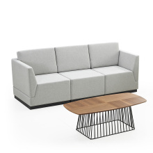 Modern Commercial Design Fabric Hotel Office Living Room Leisure Sofa
