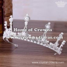 Wholesale Crystal Wedding Tiaras With Pearls