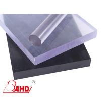 Hoja de policarbonato para PC de color transparente / negro semiacabado