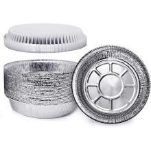 8-дюймовый круглый лоток из алюминиевой фольги
