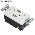 CUL Certificate electrical equipment gfci usb wall outlet sockets