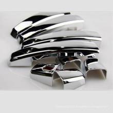China famosa porta de carro alça / liga de zinco liga de alumínio porta identificador