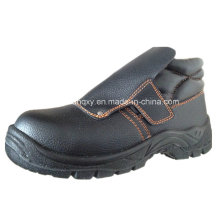 Protect Instep and No Shoelack Safety Shoes (HQ-022)