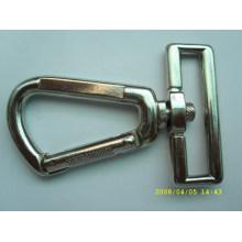 Alibaba supply wholesale custom Silver plating sew snap fasteners dog snap hook