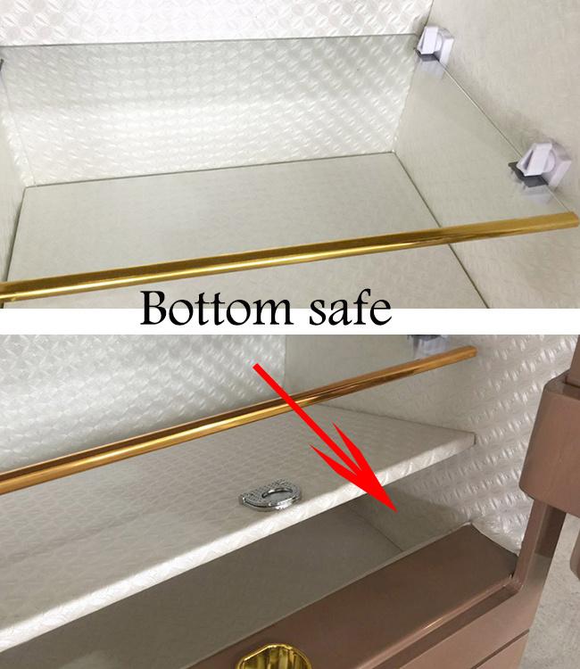 Fingerprint hotel safe electrical safety box