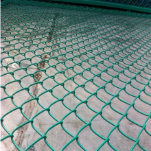 High quality beautiful pvc chain link fence