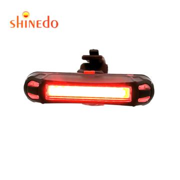 shinedo Waterproof USB Rechargeable flashing light  Brake Sensing Rear Light for Bicycle head lamps