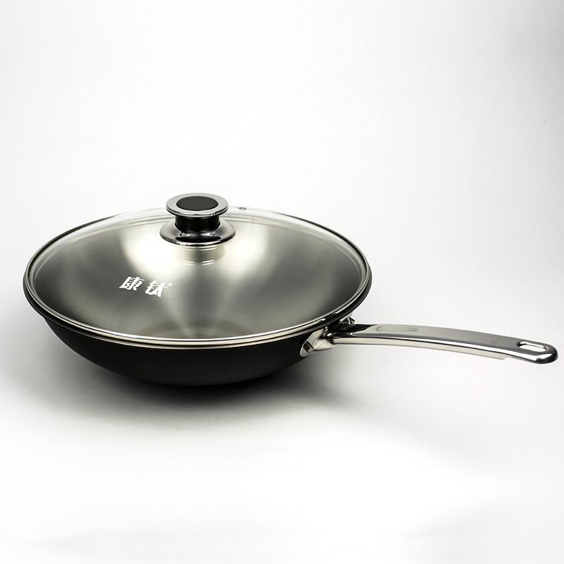 Titanium Wok Set Fry Pan