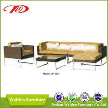 Sofá de mobiliário de pátio (DH-869)