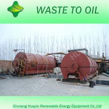 8 / 10T Déchets usagés en plastique / machines de recyclage de pneus à Singapour / Inde