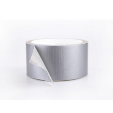 Manufactory Outlet Hot Melt Easy Tear Waterproof Adhesive Cloth Vinyl Silver Duct Tape