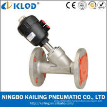 single acting normally closed flange angle seat valves KLJZF-15F