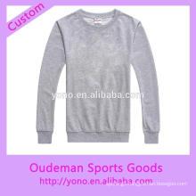 New style custom wholesale o-neck hoodies
