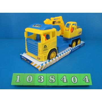 Nouvelle voiture en plastique de construction de frottement de produits de jouets (1038404)