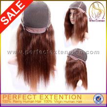 Wholesale Cheap Remy Human Hair Wavy Chinese Virgin Yaki Full Lace Wig