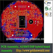 montaje del pcb del controlador de la luz solar Montaje electrónico del contrato