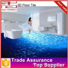 3d-Bodenbelag für digitale 3d-inject-Bild-Badezimmerfliese keramische 3d Bodenfliese