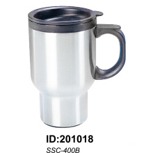 Ssc-400b Stainless Steel Vacuum Double Wall Auto Car Mugs New