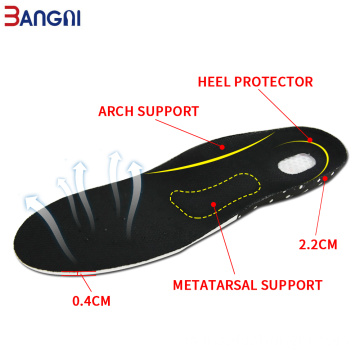 Orthotic Orthopedic Arch Support plantillas de almohadillas de gel