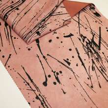 Fashion Printing Suede Stoffe für Herbst / Winter