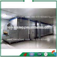 Équipement de congélation rapide du tunnel de haricots