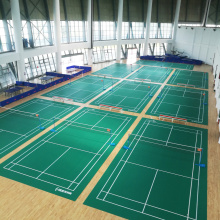 Aprovado por BWF Badminton Sports court mat